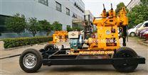 XY-1-T4型轮式钻机四轮拖挂钻机塔机一体岩芯勘探钻机(0-100米)