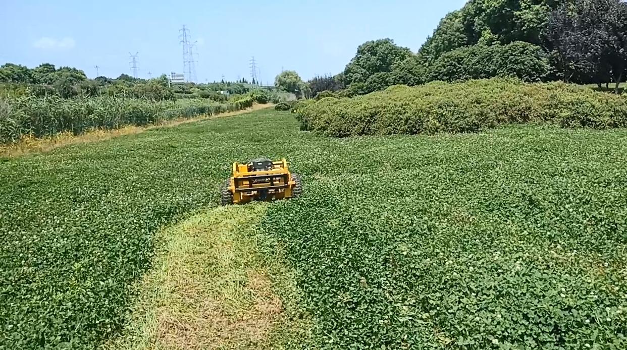 农场果园遥控割草机器人