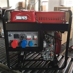 220V单相3KW小型柴油发电机只有60公斤