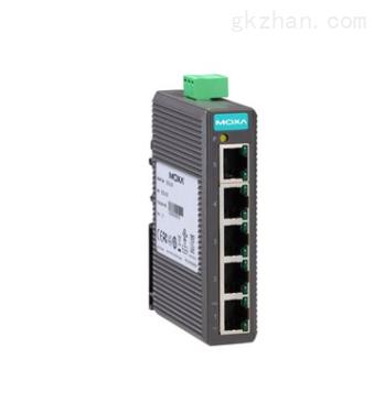 EDS-205 系列 5 端口入门级非网管型工业以太网交换机