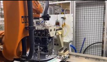 潍坊大世智能机器人装配工作站实现自动化