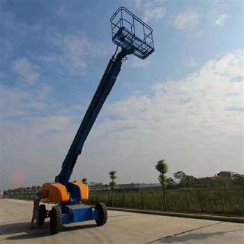 进口自行走曲臂折臂式升降机 直臂伸缩臂式
