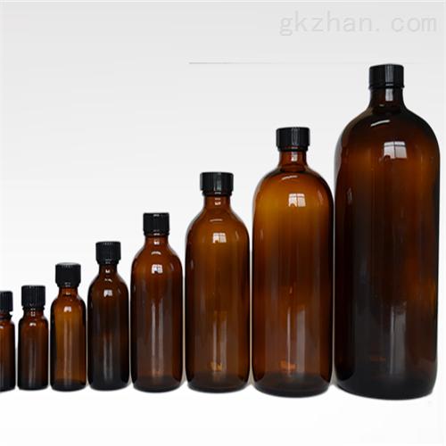 带聚四氟乙烯衬垫棕色螺口玻璃瓶 现货