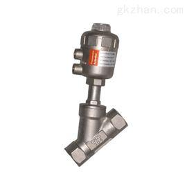 气动薄膜角形单座调节阀