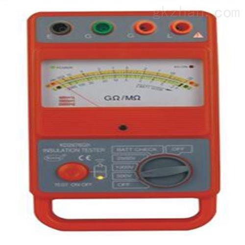 高压指针绝缘电阻表 仪表