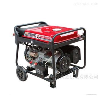 6KW雙壓一體單相雙相同時使用汽油發電機