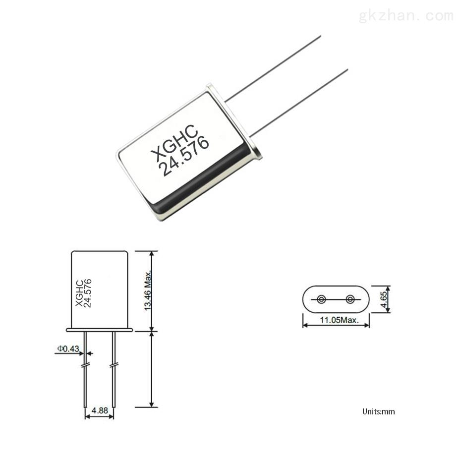 插件晶振49U