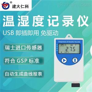 COS-04-X建大仁科 USB温度湿度测量记录仪 山东厂家