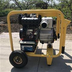 EYC40WDE柴油机污水泵大排量4寸132m³/h便携移动式专