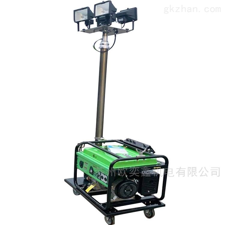 夜间施工发电机照明灯车LED高亮度应急使用