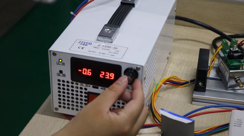 良石智能-大电流PLC直驱电磁铁演示