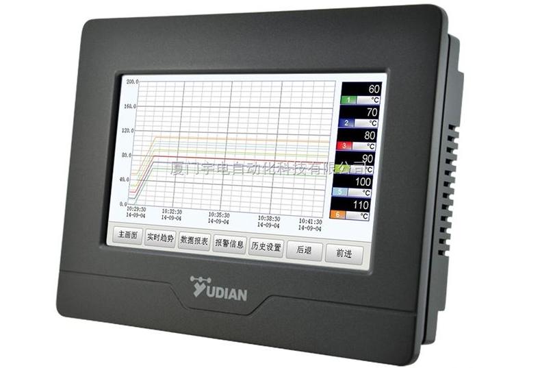 厦门宇电与您分享分体式无纸记录仪的设计理念