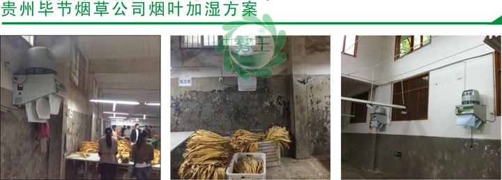 贵州毕节烟草公司烟叶回潮机案例2