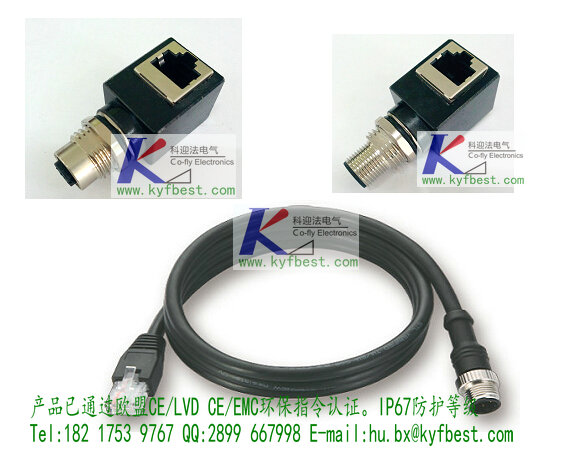 """M12 to RJ45是""""d-coded"""