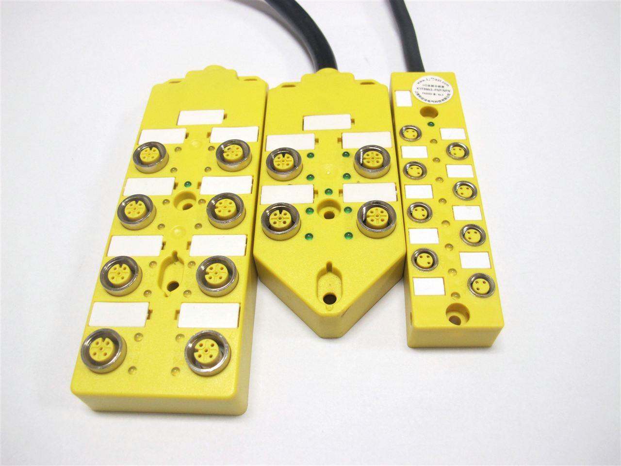 科迎法特别值得指出的是M12多接口分线盒是为实现从控制柜到现场*的插入解决方案而设计的。