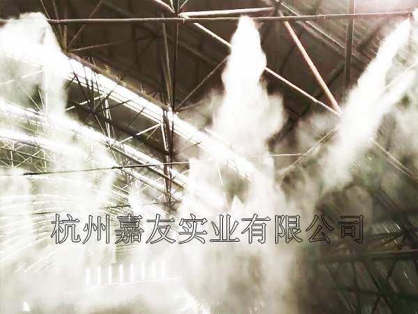 鋼鐵廠噴霧除塵案例